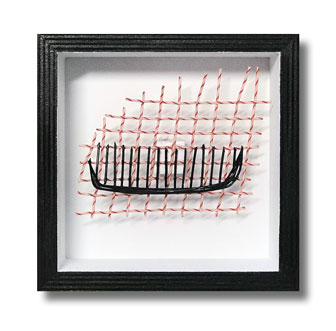 Comb - Tennis string art