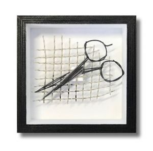 Scissors - Tennis string art
